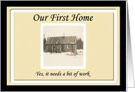 Weve moved - First home card