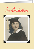 CON-Graduations - FUNNY card