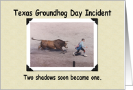 Groundhog Day Incident card