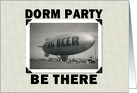 DORM PARTY card