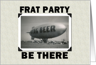 FRAT PARTY card