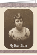 Sister's Day card