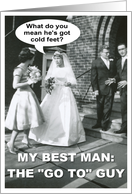 Best Man Brother card