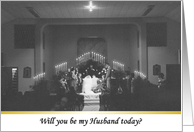 Be my Husband Today? card