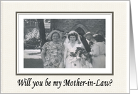 Be my Mother in Law? card