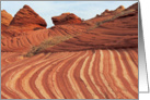 Coyote Buttes Landscape card