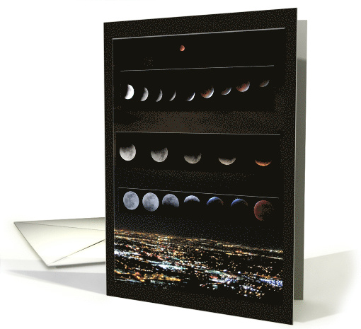Lunar Eclipses Through the Years card (1557300)