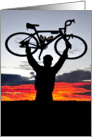 Bike Sunrise card