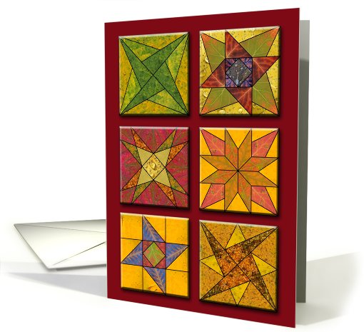 Quilted Quakies card (716876)