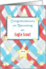 Eagle Scout Greeting Card-Court of Honor-Smiling Stars card