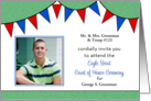 Custom Eagle Scout Court of Honor Invitation Photo Card-Banners card