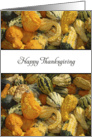 General Thanksgiving Card with Gourd Background card