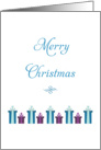 General Christmas Card-Christmas Presents-Merry Christmas card