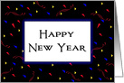 Business Happy New Year Greeting Card-Triangle Background card