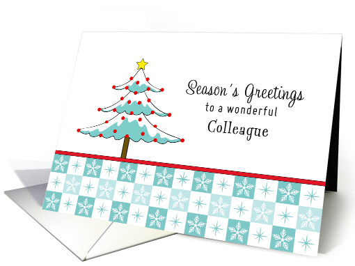 For Colleague / Co-Worker Christmas Card-Christmas... (1176080)