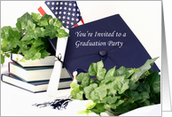 Graduation Party Invitation 2 card