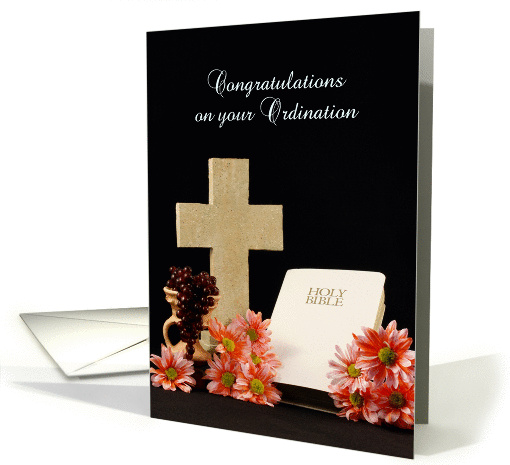 congratulations on your ordination greeting card