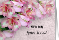 Will You Be My Mother In Law card