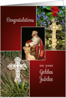 Golden Jubilee, 50th Anniversary of Religious Life Card