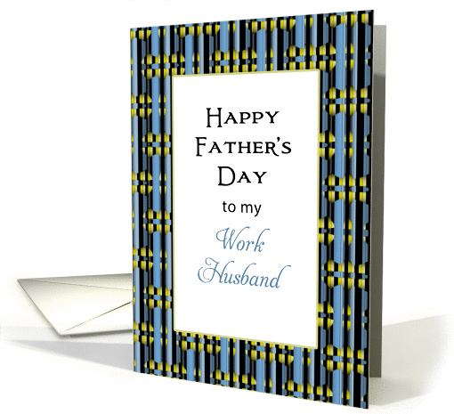 For Work Husband Father's Day card (807000)