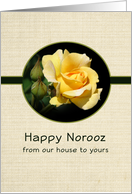 Happy Norooz-Persian New Year-Greeting Card-Our House to Yours card
