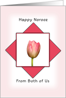 Happy Norooz From Both of Us-Persian New Year-Greeting Card