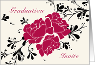 Graduation Invite card