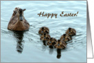 Duck Formation, Happy Easter! card