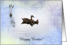 Duck Family, Easter, Custom Text card