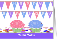 Birthday Cards For Twin Boy Girl From Greeting Card Universe