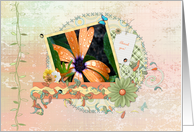 Happy Administrative Professionals Day, Ladybugs, Butterflies & Flower card