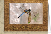 Dragonfly, Birthday Wishes, 108th card