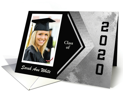 2020 Graduation Announcement Photo Card and Add Text,... (931217)