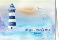 Lighthouse Scenic, Customize for Father's Day card