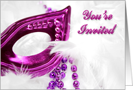 Costume Party Invitation card