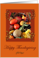 Happy Thanksgiving Harvest card