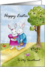 Happy Easter To My Sweetheart Card