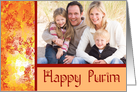 Purim photo cards Happy Purim card