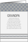 Grandpa Would Have Loved You Son card