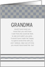 Grandma Would Have Loved You Son card