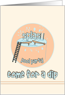 Come For A Dip card