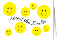Across the Smiles Thinking of You card