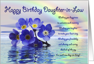 Birthday Cards For Daughter In Law From Greeting Card Universe