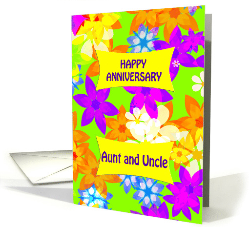 Anniversary Fabulous Flowers card (927972)
