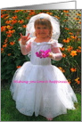 Loving Wishes for Bride & Groom American Sign Language I Love You card