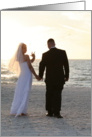 Love to the Bride & Groom Sign Language I Love You card