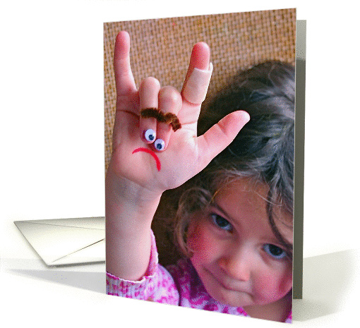 Sign Language Get Better Soon card (870155)