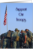 Support Our Troops card