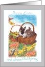 for Future Son in Law illustrated Easter Bunny card