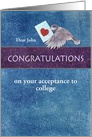 College Acceptance Congrats Special Delivery card